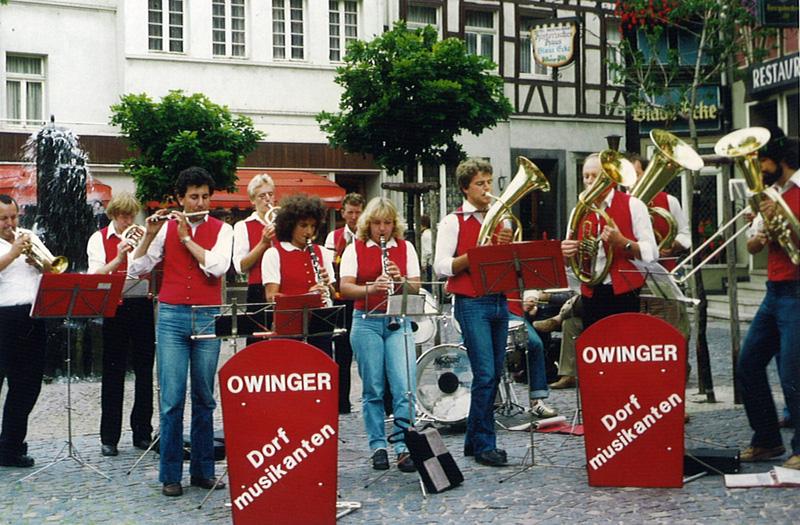 Musikkapelle 1981